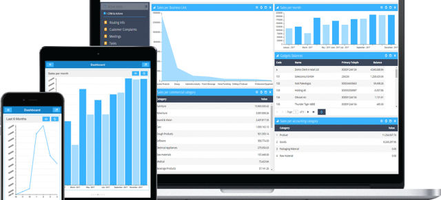 SoftOne enriches mobile CRM's functionality